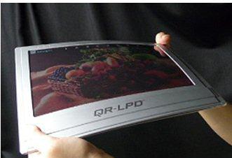 Flexibler E-Book-Reader in Farbe von Bridgstone