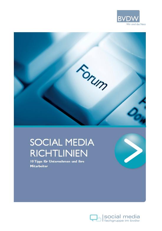 BVDW veröffentlicht Social Media-Leitfaden für Unternehmen