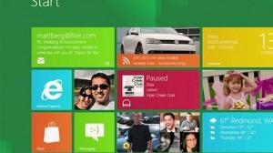 Windows 8 Microsoft Kachelbildschirm