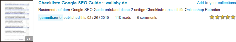 PDF-Datei bei scribd.com publizieren