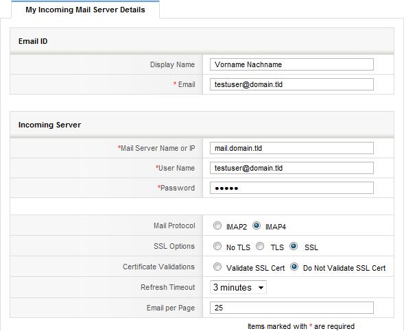 eMail Marketing mit vtiger CRM abb02 vtiger posteingangsserver