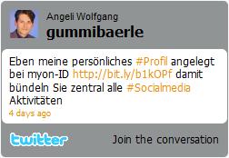 20 Social Media Widgets abb3 twitter profil widget