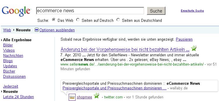 eCommerce News in Echtzeit