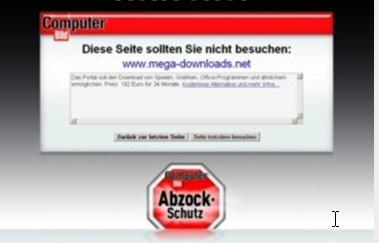 Abzock Schutzsoftware von computer Bild